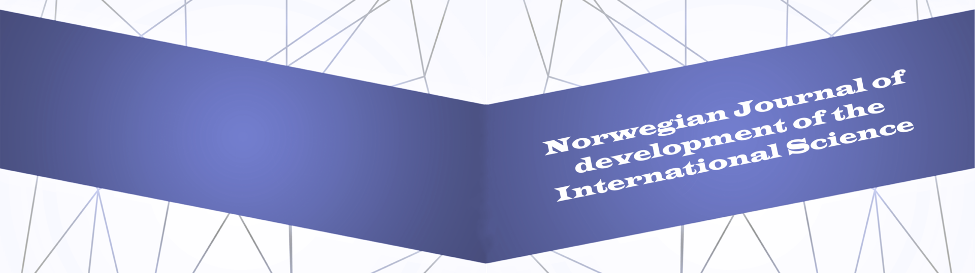 Norwegian Journal of development of the International Science